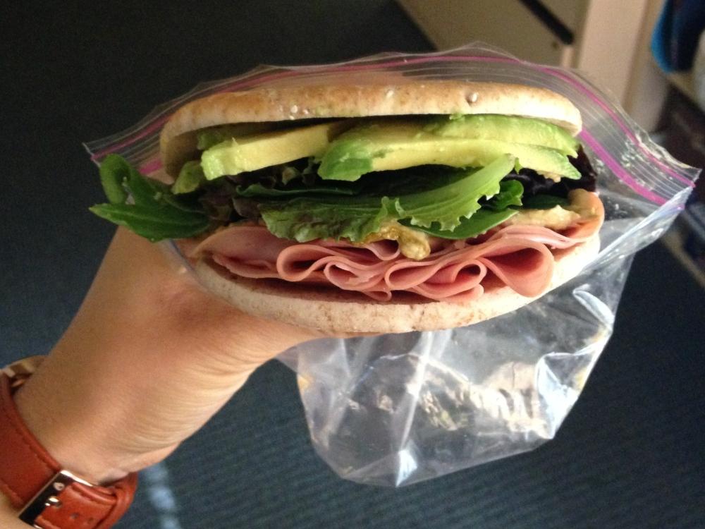 turkey-avocado-breakfast-sandwich
