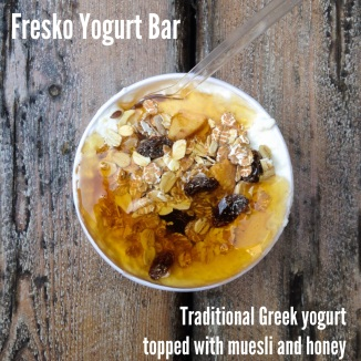 Fresko Yogurt Bar: Athens, Greece