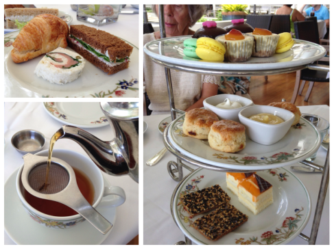 High Tea with assorted sandwiches, and baked goods Moana Surfrider Hotel: Waikiki, HI