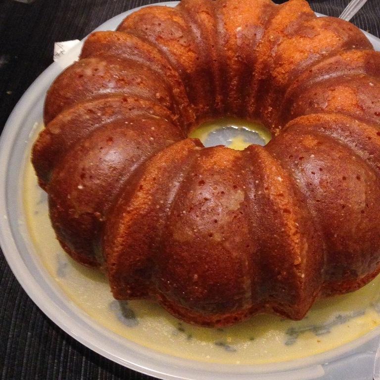 Lilikoi Cake