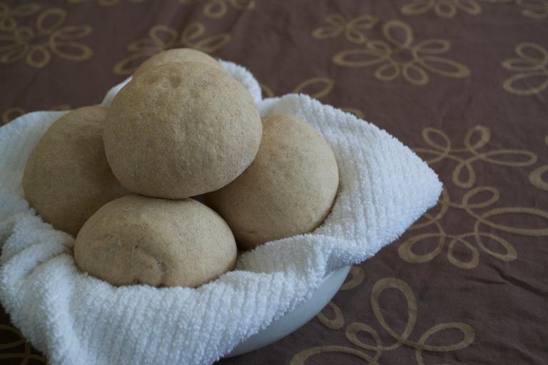 Whole Wheat Torta Rolls-2