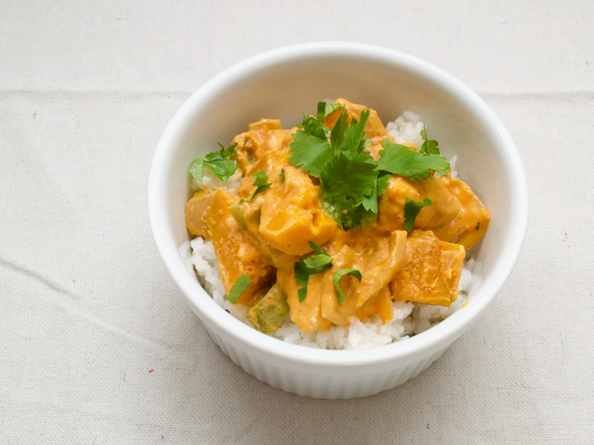 Thai Red Curry with Kabocha Squash – THE FIRST BITE